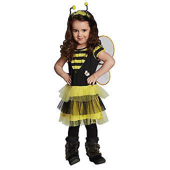 Bienchen Bienenkostüm Kleid für Kinder