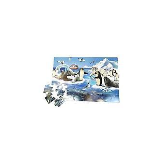 Einfach für Kinder Boden puzzle 36096 Antarktis
