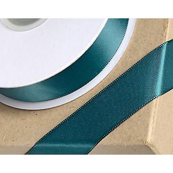 3mm Bottle Green Satin Ribbon for Crafts - 25m | Ribbons & Bows for Crafts