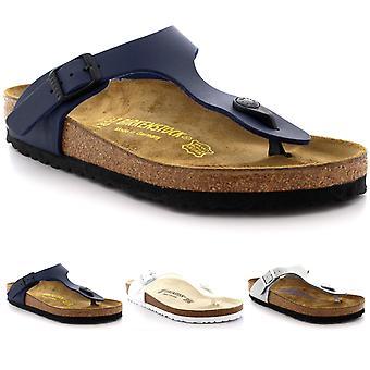 Unisex Adults Birkenstock Gizeh Birko Flor Summer Open Toe T-Bar Sandals