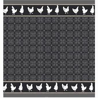 DADDY Tea towel Chicken grey 60x65cm 6pcs