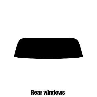 Предварительно вырезать окна оттенок - Honda S2000 - 2000-2006 - задние окна