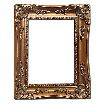 13 x 18 厘米或 5 x 7 英寸的黄金相框