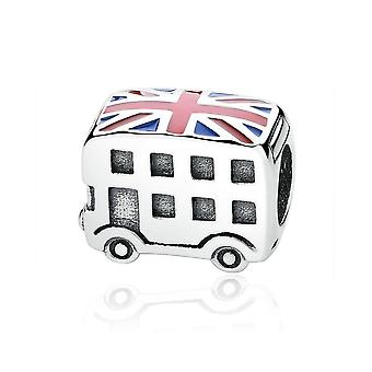Sterling silver charm London bus