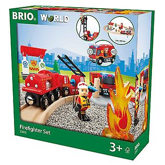 Brio świat ognia & Rescue - Rescue Fire Fighter zestaw