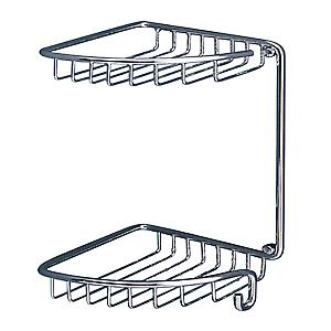 Gedy Oltre Double Corner Baskets Chrome 5681 13