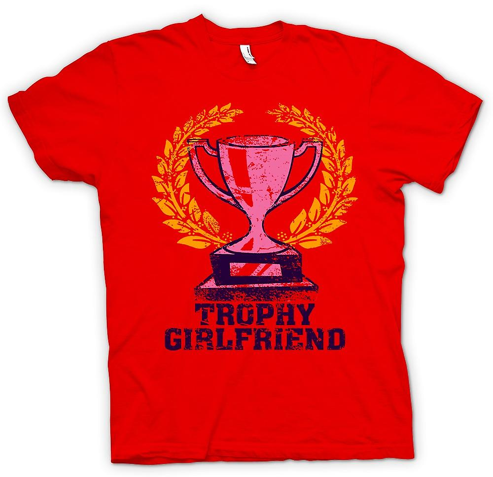 Mens T-shirt - Trophy Freundin - lustig