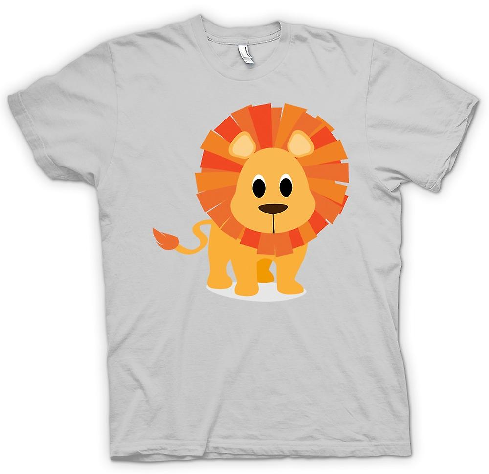 Mens T-shirt - I Love Lions - Cute Animal