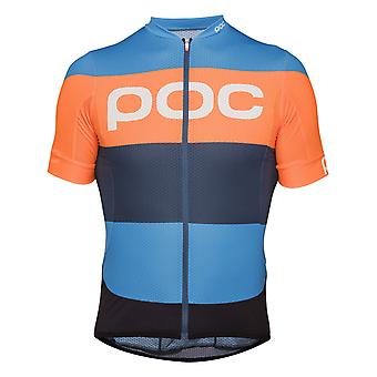 POC Furfural Multi Blue 2018 Essential Short Sleeved Cycling Jersey