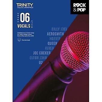 Trinity Rock & Pop 2018 zang Grade 6 (mannelijke stem) - Trinity Rock & Pop 2018 (bladmuziek)