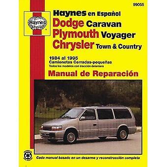 Dodge Caravan, Plymouth Voyager, Chrysler Town och landet 1984-95-Spanish Edition