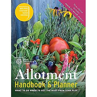 The RHS Allotment Handbook: What to do when to get the most from your plot