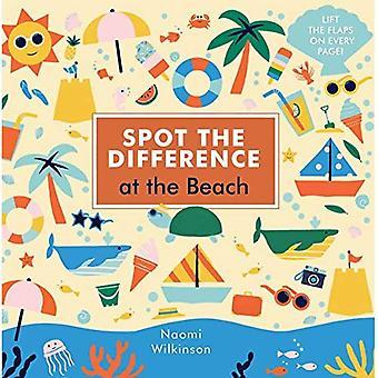 Se skillnaden: At the Beach (Spot skillnaden) [styrelse bok]