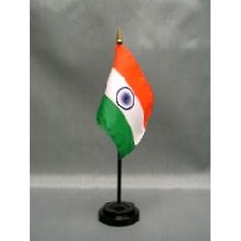 India tabel vlag met Stick en Base