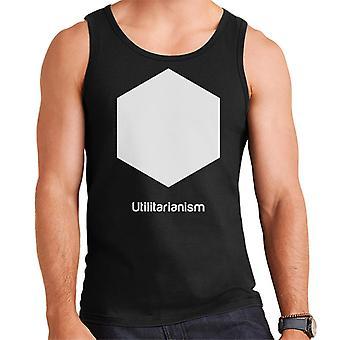 Utilitarianism Philosophy Symbol Men's Vest