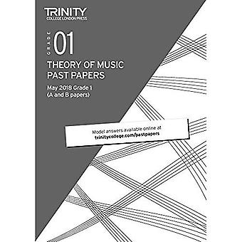 Trinity College London Theory of Music Past Papers (May 2018) Grade 1
