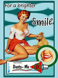 Dento-Me Smile steel fridge magnet  (na)
