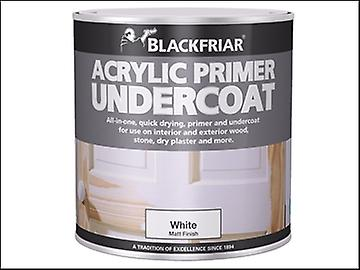 Blackfriar Quick Drying Acrylic Primer Undercoat White 1 Litre