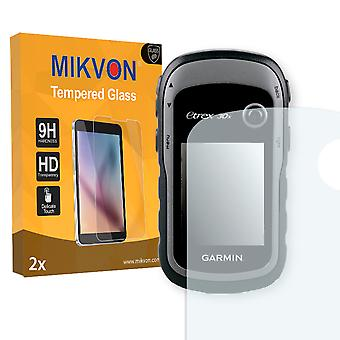 Garmin eTrex 30x Screen Protector - Mikvon flexible Tempered Glass 9H (Retail Package with accessories)