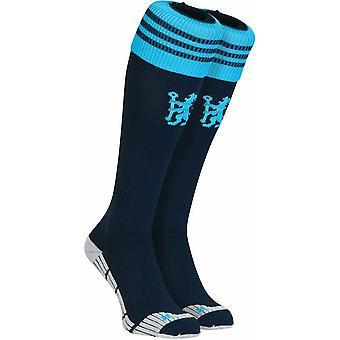 2014-2015 Chelsea Adidas tercer calcetines (Marina oscuro)