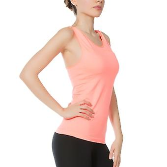 Jerf- Womens-albany - Coral - Active Tank