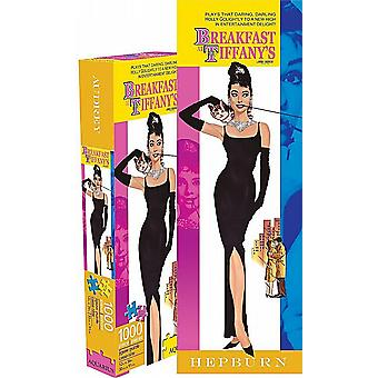 Breakfast At Tiffanys slim 1000 elementów puzzle 900 mm x 300 mm (nm)