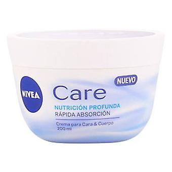 Nivea Deep Face Care Nutrition & Body 200 Ml