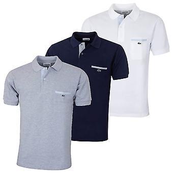 Lacoste Mens 2019 L. 12:12 détails contrastants Polo Shirt