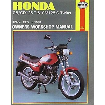 Honda CB/CD125T and CM125C Twins 1977-88 Owner's Workshop Manual by J