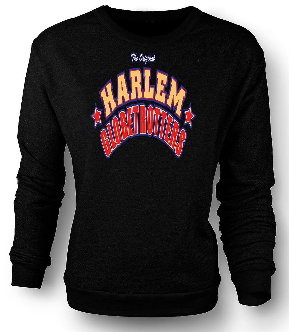 Mens Sweatshirt Harlem Globetrotters - basket-ball