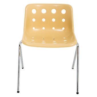 Loft Robin Day 4 Leg Cappuccino Plastic Polo Chair