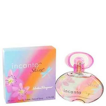 Incanto Shine de Salvatore Ferragamo Eau De Toilette Spray 1.7 Oz (femmes) V728-447583