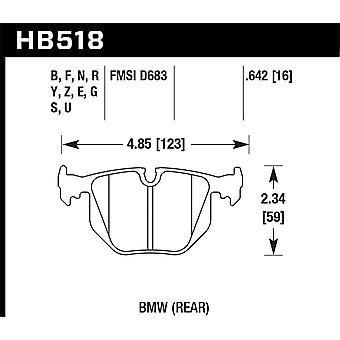 Hawk prestanda HB518G. 642 DTC-60