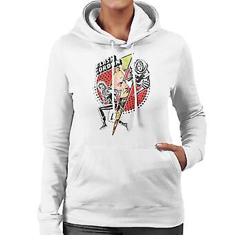 Flash Gordon Lightning Bolt Frauen's Kapuzen Sweatshirt