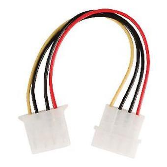 Расширение мощности Valueline Molex кабель 0,15 М многоцветный (DIY, электричество)