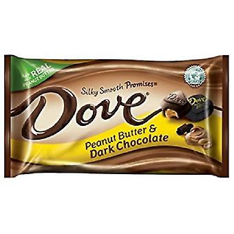 Pomba manteiga de amendoim & chocolate escuro seda suave promete doces de chocolate