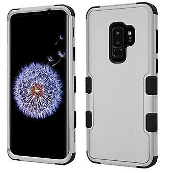 SAMSUNG GALAXY S9 PLUS MYBAT TUFF HYBRID PROTECTOR-NATURAL GRAY/BLACK