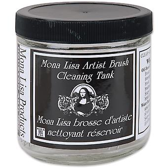 Mona Lisa Artist Brush Cleaning Tank 16 Ounces 160017