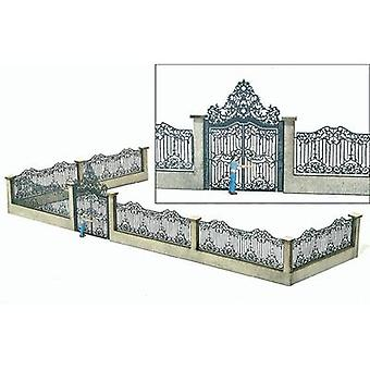 MBZ 80108 H0 Palace Gate with Fence