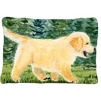 Golden Retriever Decorative   Canvas Fabric Pillow