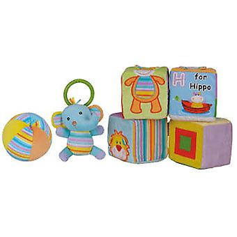Import September 4 Dice And Soft Ball (Toys , Preschool , Babies , Soft Toys)