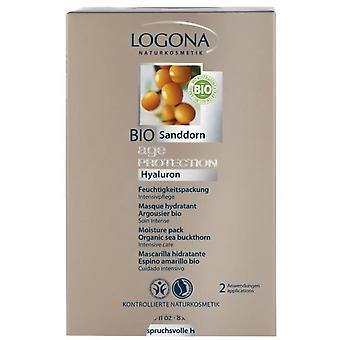 Logona Hydrating Mask 10 Units (2X7,5Ml)