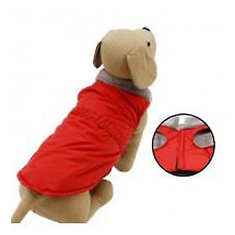Yagu Red Windbreaker (Dogs , Dog Clothes , Raincoats)