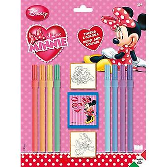 Multiprint Minnie Stamps Blister 2