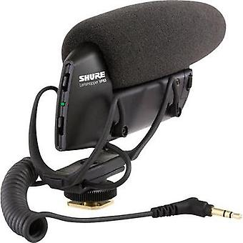 Camera microphone Shure LENSHOPPER Transfer type:Corded incl. cable, incl. pop filter, Hot shoe mount
