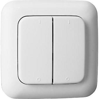Smartwares SH5-TSW-B Wireless wall-mounted switch 2-channel Max. range (open field) 50 m