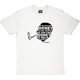 Tony Benn Money Quote mænd T-Shirt