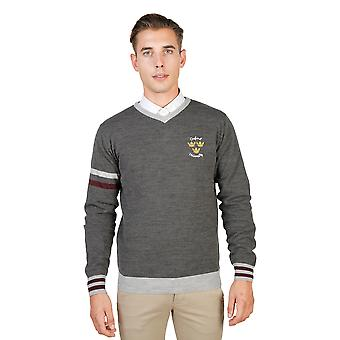 Oxford University Pullover men Grey