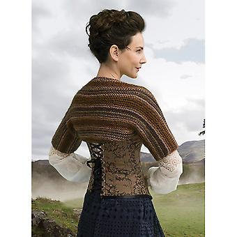 Outlander Yarn Kit-Claire's Captivating Castle Leoch Shrug 600-617