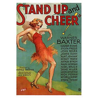 Stand Up and Cheer Movie Poster Print (27 x 40)